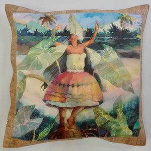 bliss collective bags Legend of the Taro Pillow - Bliss Hawaii