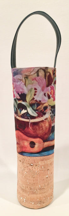 Ukulele & Floral Wine Bag - Bliss Hawaii