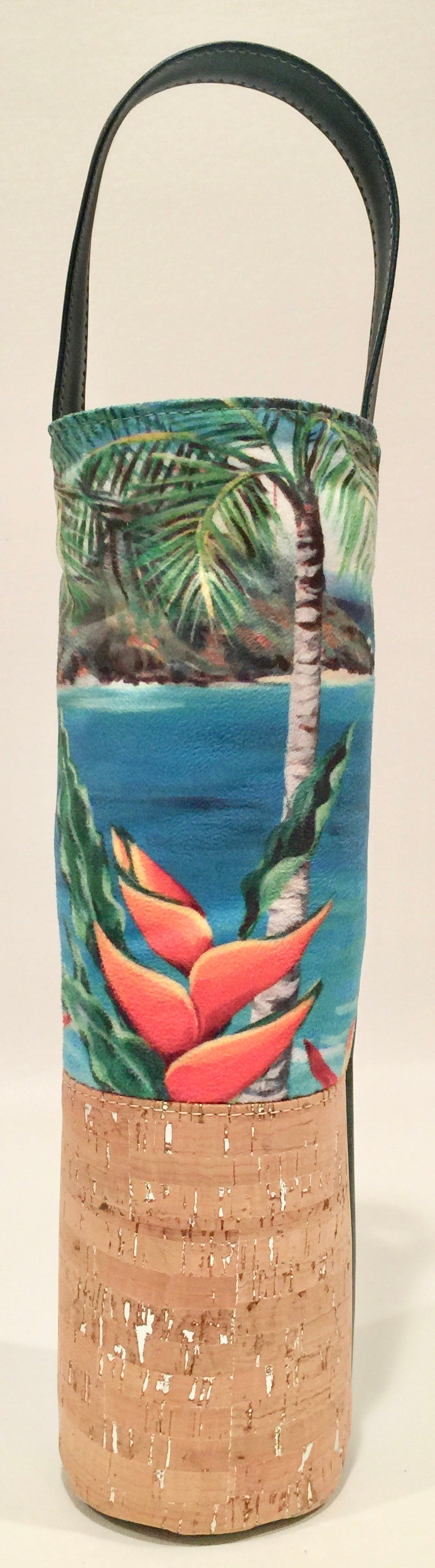 Heliconia Wine Bag - Bliss Hawaii