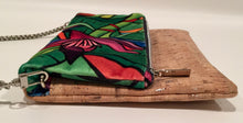 cork bag cork handbag tropical bag tropical handbag Bliss Blooms Cuban art Bliss Hawaii Cork tropical handbag Banana Platano Flower