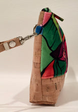 cork bag cork handbag tropical bag tropical handbag Bliss Blooms Banana Flower Wristlet Tropical Cork Handbag Miami Cuban art