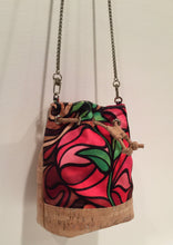 cork bag cork handbag tropical bag tropical handbag Bliss Collective Bliss Blooms baby bucket bag art Miami cork