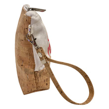 cork bag cork handbag Wristlet Joanna Baker fashion illustration wearable art