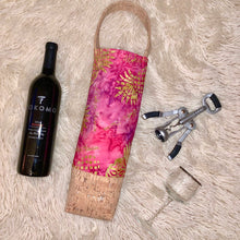 Pink Pineapple Wine Bag