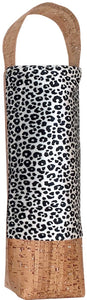 Bliss Collective Leopard wine bag with Portuguese Cork