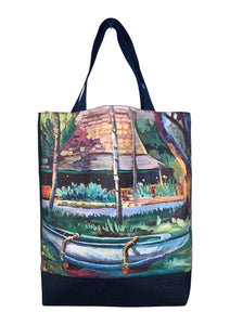 shopper tote art hawaii buzzes kailua