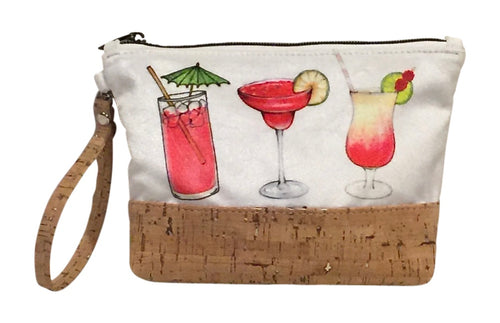 Five o'clock Somewhere Wristlet