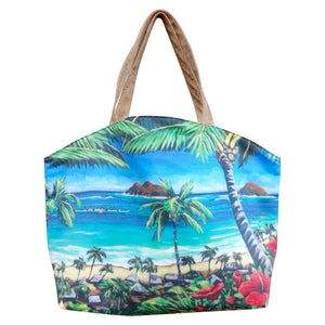 bliss collective bags Lanikai Large Tote - Bliss Hawaii