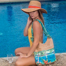 Bliss Hawaii 'olu'olu luxury bag cork art hawaii