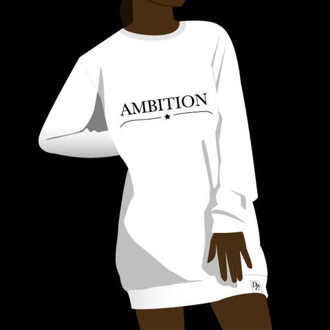 AMBITION ROBE CREWNECK LONG DREAMZ UNDERWEAR FABRIQUÉ AU CANADA