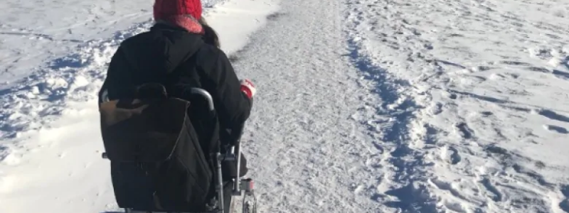 Winter Woes for People in Wheelchairs