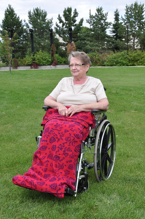 Wrap-About Wheelchair Blanket for Children & Adults - InnovAID