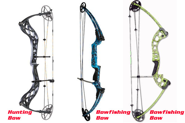 Comparison of Bare Hunting and Bowfishing Bow