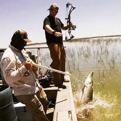 bowfishing for alligator gar
