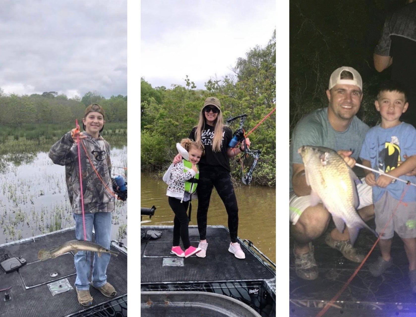 bowfishing is family friendly and is great for little kids