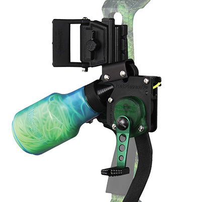 convert bow with bottle reel for bowfishing