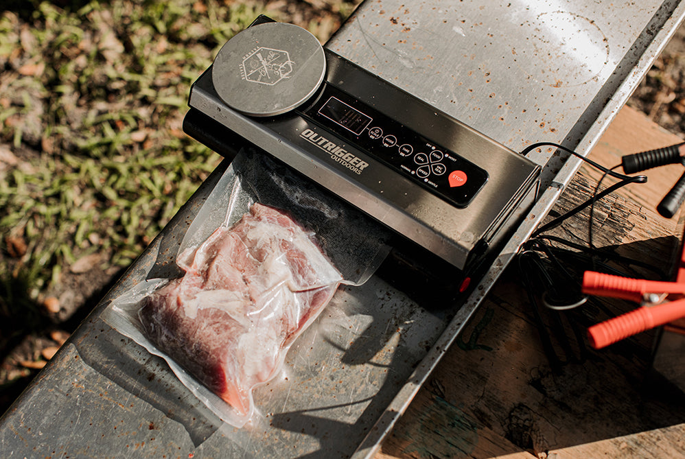 vacuum sealed hog and wild game