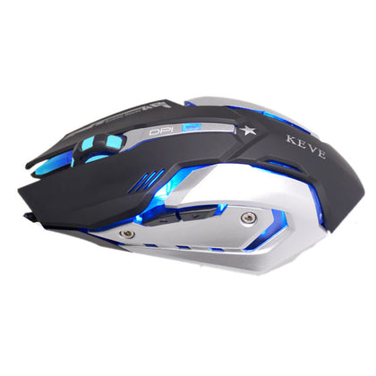 Silent Click Wired Gaming Mouse Macro Definition 4 Color Breathing Light