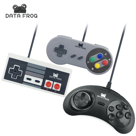 Game Controller 3 Pcs Wired USB Joystick For Snes