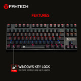 Gaming Keyboard Full Anti-Ghosting Wired Mechanical 87 Keys MK871