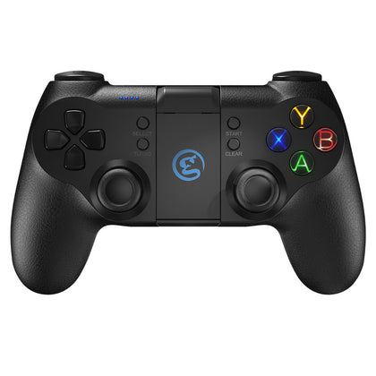 black gaming controller