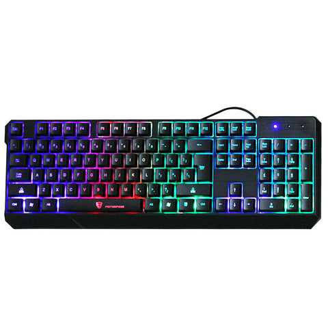 Gaming Keyboard USB Wired 7-Color Colorful Backlight MotoSpeed K70