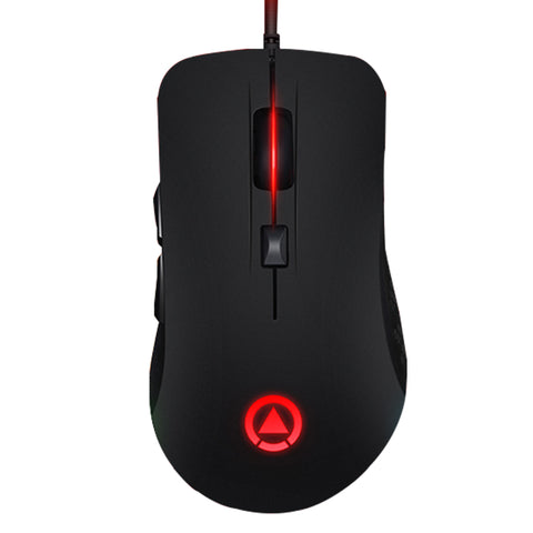 Silent Click Gaming Mouse 7 Buttons RGB LED Adjustable DPI G402