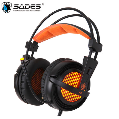Sades A6 With Mic Casque 7.1 Surround Sound