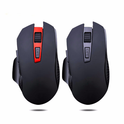 Wireless Gaming Mouse Silent Click