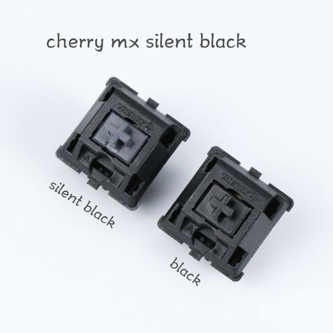 4pcs Cherry MX Silent Black Switches For Cherry Mx Mechanical Gaming keyboard Type Keycap