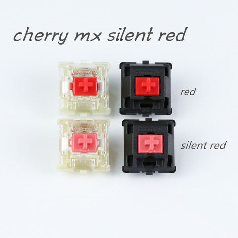 Cherry MX Silent Red Switches For Cherry Mx Mechanical Gaming keyboard Type Keycap 4pcs