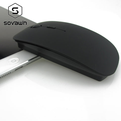 Rechargeable Silent Wireless Arc Ultra Slim Mouse 2.4ghz 1600 DPI Optical