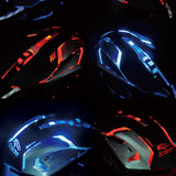 Silent Click Wired Gaming Mouse Optical BASIX