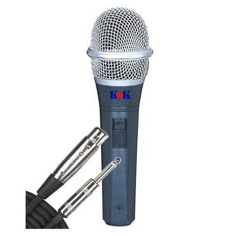 KOK Audio WMU-346 UHF Wireless Karaoke Microphone