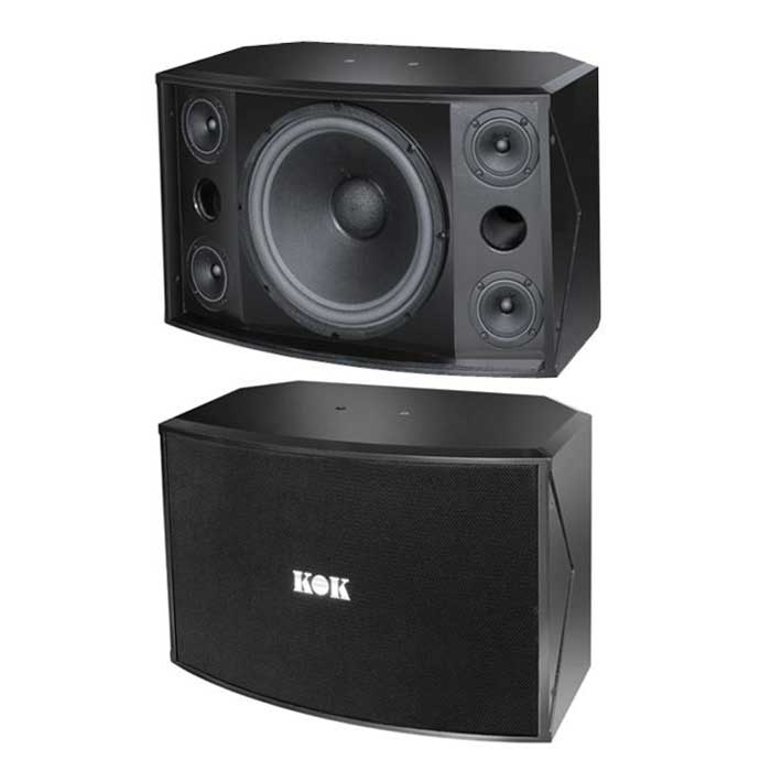 KOK Audio RS-412 2000 Watt Karaoke Speaker - Isingtec
