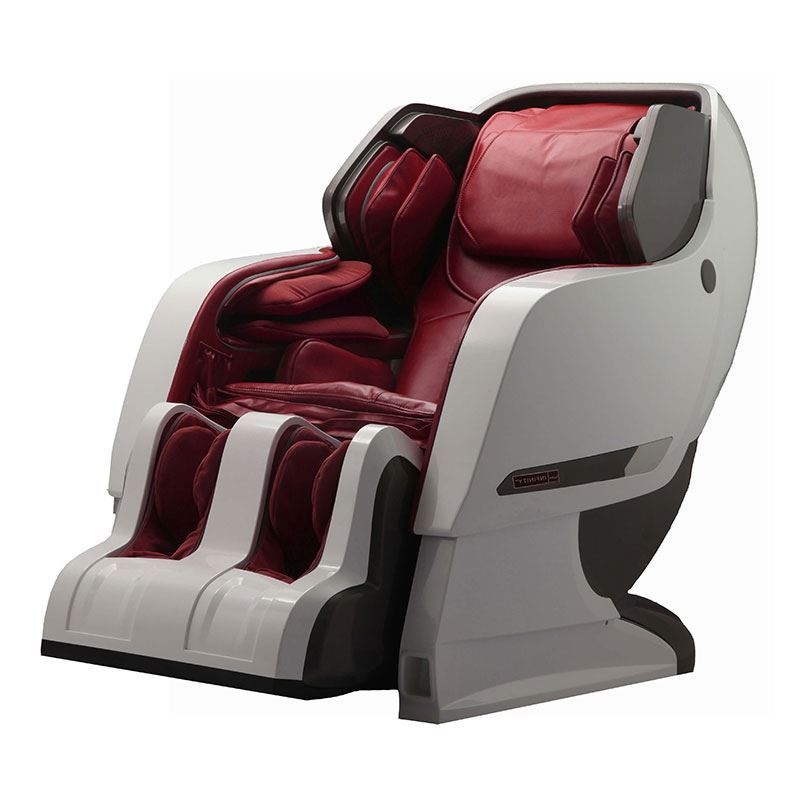 white external and red internal color massage chair