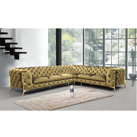 12533 Italia Leather Sofa Sectional