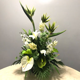A140 Artificial Flower Arrangement - Isingtec