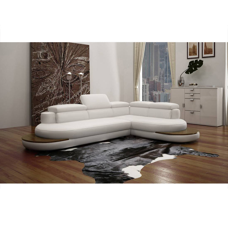 KOK USA 121514 Leather Sofa Sectional - Isingtec