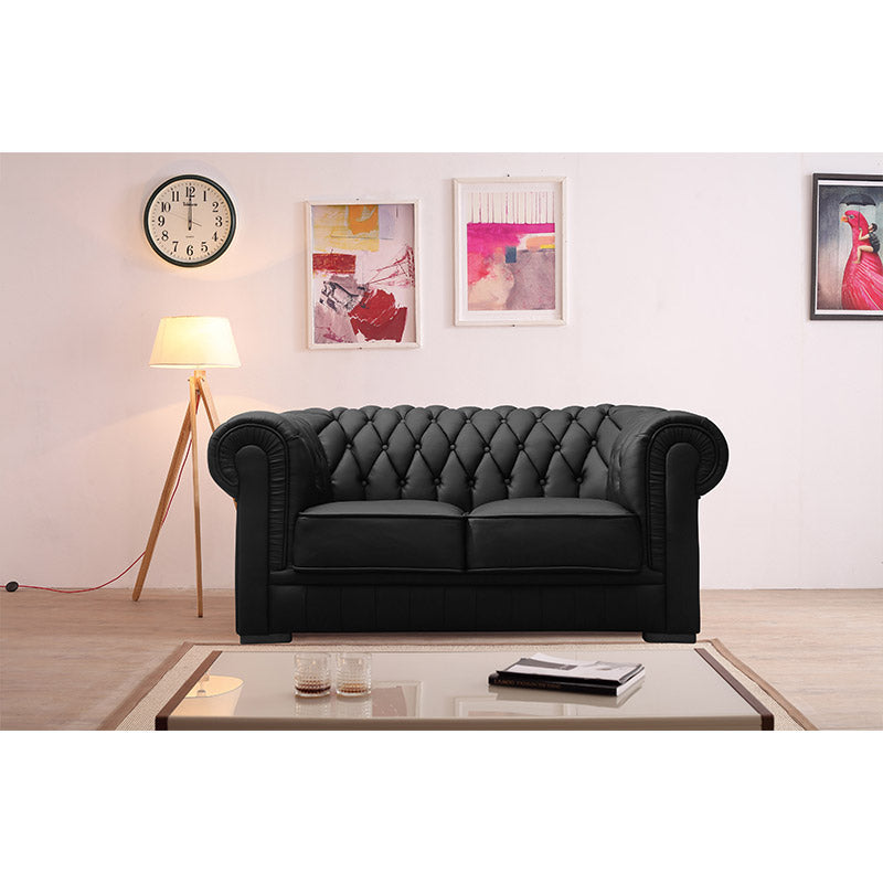 KOK USA 122220 Leather Sofa Set