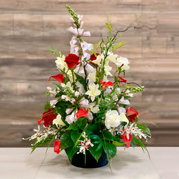 A40 Artificial Flower Arrangement - Isingtec