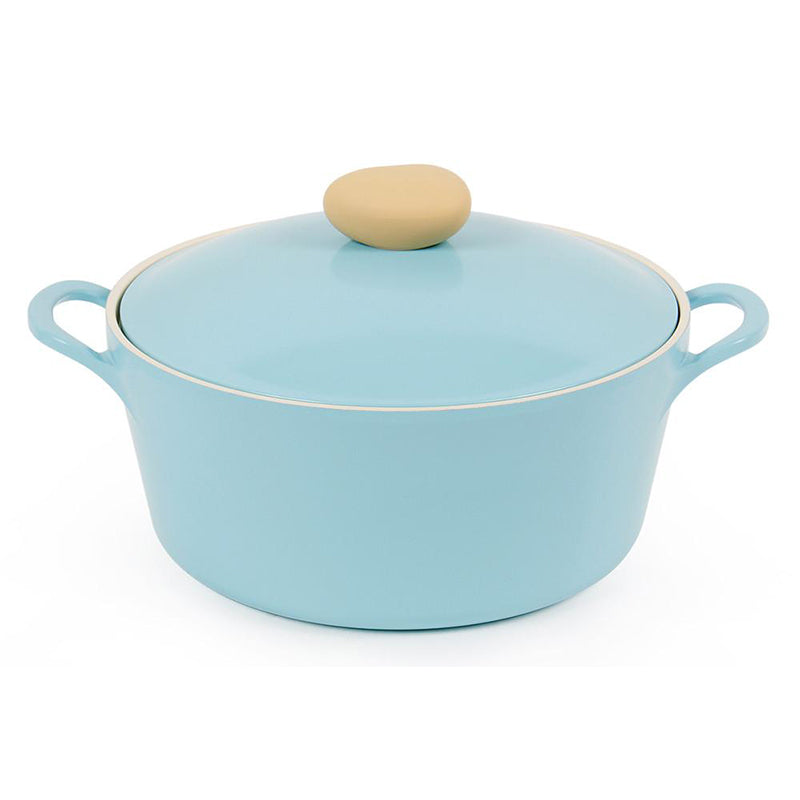 Neoflam Retro Ceramic Nonstick Stockpot - 5QT