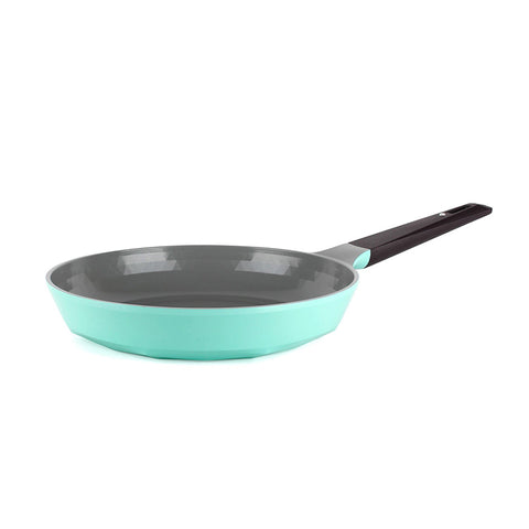 "Neoflam Retro 10"" Frying Pan, Soft-Touch Handle"