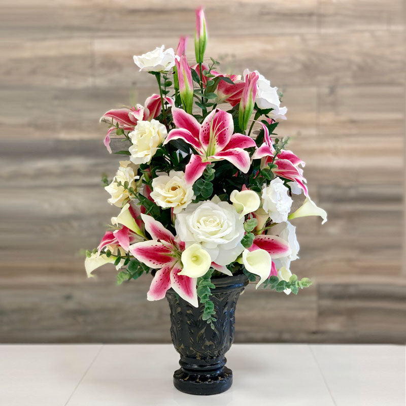 A60 Artificial Flower Arrangement - Isingtec