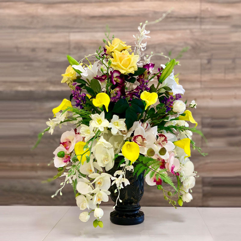 A70 Artificial Flower Arrangement - Isingtec