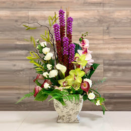 A80 Artificial Flower Arrangement - Isingtec