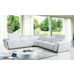 KOK USA 128010A Bonded Leather Sofa Sectional