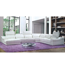 KOK USA 128022 Bonded Leather Sofa Sectional