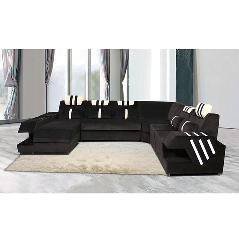KOK USA 126815A Bonded Leather Sofa Sectional