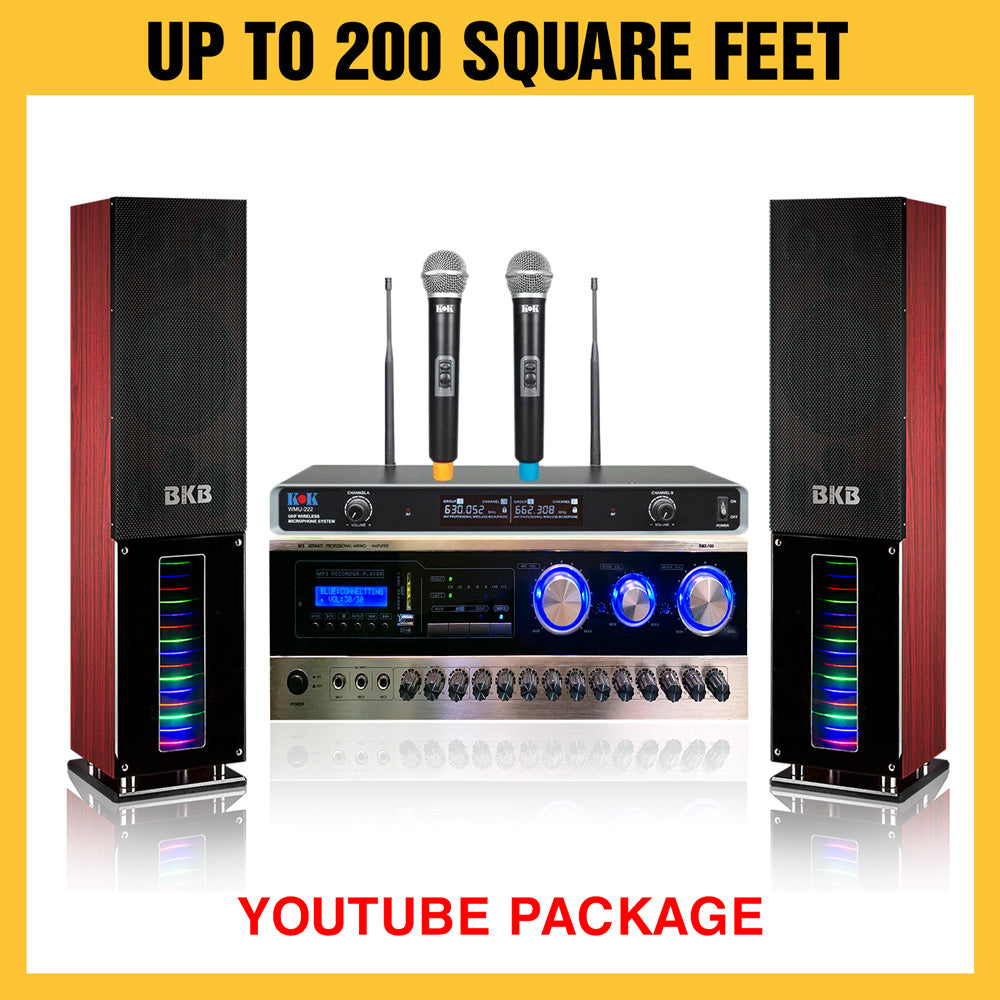 A80 600 Watt Youtube Package Karaoke System - Isingtec